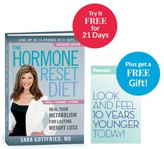 The Hormone Reset Diet: Seems like solid medical/nutritional information for those of us struggling with menopausal weight gain. Pretty similar to Paleo, it's already convinced me to give up coffee and wine (for awhile) to see if I can jumpstart this hormone reset.