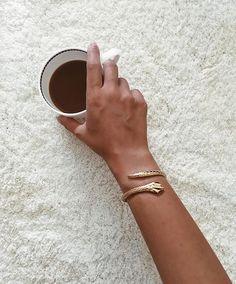 gold snake cuff     fashion jewellery designer pendant ring necklace cuff bracelet