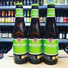 New beer. Mongozo Premium Pilsner. Organic and Gluten Free. In stock now: Gall & Gall. € 2,29 per fles (33 cl).