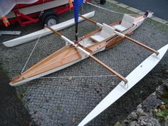 Buy and sell boats at the marketplace for The Open Canoe Sailing Group - a UK wide club for those interested in sailing small, lightweight craft. We are the only organisation especially for canoe sailing in the UK. Sailing Kayak, Canoe And Kayak, Classic Wooden Boats, Wooden Boat Plans, Boat Building Plans, Boat Stuff, Canal Boat, Narrowboat, Boat Design