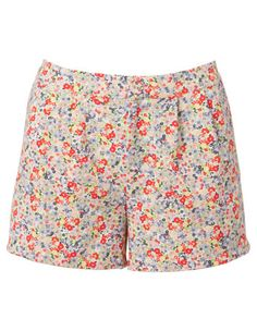 Ditsy Floral Tuck Shorts | Myer