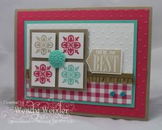 WMW Four Square by Wendybell - Cards and Paper Crafts at Splitcoaststampers