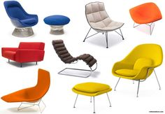 Sitting Fairly With Knoll's Contemporary Lounge Chairs - http://www.inthomedecor.com/home-design-ideas/sitting-fairly-with-knolls-contemporary-lounge-chairs.html