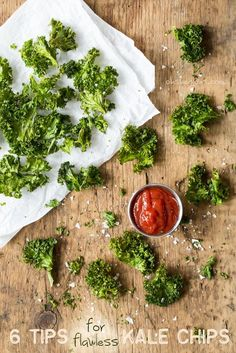 6 Tips for Flawless Kale Chips + All-Dressed Kale Chips recipe — Oh She Glows All Dressed Seasoning Recipe, All Dressed Chips Recipe, Kale Chip Recipes, Detox Recipes, Veggie Recipes, Gluten Free Recipes, Whole Food Recipes, Snack Recipes, Vegetarian Recipes