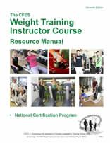 A CFES Weight Training Instructor Manual