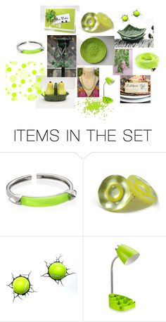"""""""Apple Green"""" by ceraminic on Polyvore featuring art"""