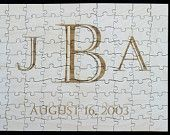 "196 Piece Guest Book Alternative Puzzle Laser Engraved 23.5"" X 17.5"" 196 Pieces Wood. $150.00, via Etsy."