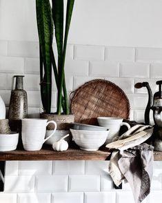 Kitchen,rustic,scandinavian,ceramic instagram lavien_home_decor