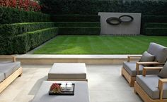 A showcase of Luciano Giubbilei Garden furniture