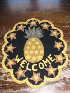 Welcome Pineapple mat