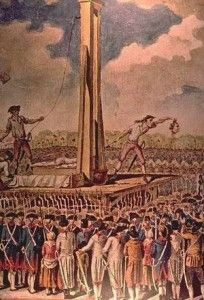 The French Revolution was replaced by The French Republic during a period of horrific political violence known as the Reign of Terror. Thousands of nobles and priests were slaughtered or sent to the guillotine. Much of this was under the orders of the ironically titled Committee of Public Safety.