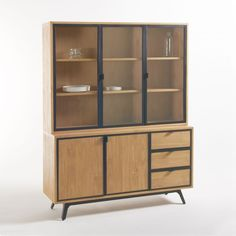 Stunning furniture of the highest quality for your home. Find your perfect Sideboard, Cabinets & Dressers here. Dresser Furniture, Wood Sizes, Deck The Halls, Cupboard, Bookcase, Bookshelves, Sweet Home, New Homes, Windows