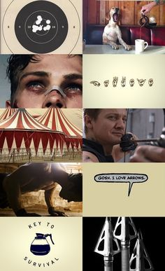 "edenforest: "" Character aesthetics: Clint Barton/Hawkeye – Avengers ""Boomerang arrow. It comes back to you in the end. Boomerang. Respect it. "" """