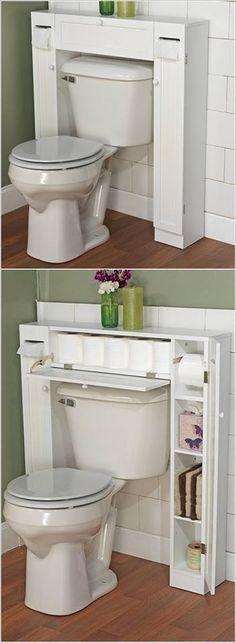 Banyoda Depolama Alanı Oluşturmanız için Muhteşem Fikirler - Ev Düzenleme