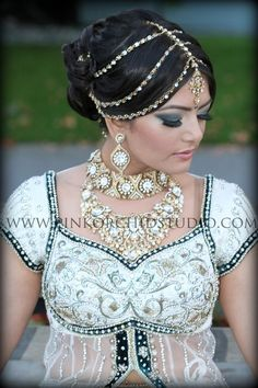 Indian wedding head piece