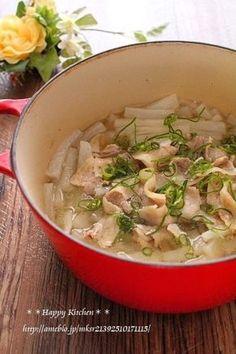優しい味!塩大根と豚バラ肉のガーリック風味ほっこり煮 by たっき ...