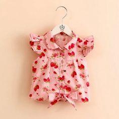 Jocelinne Pink Cotton Top