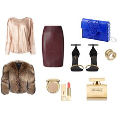 Designer Clothes, Shoes & Bags for Women Leather Skirt, Shoe Bag, Polyvore, Stuff To Buy, Accessories, Shopping, Shoes, Collection, Design