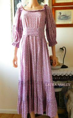 Collectable Rare Laura Ashley Vintage Dress Size by POPPIEDAYS, £85.00