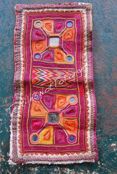 Original+old+Banjara+embroidery+intricate+by+TextilesNotToForget,+kr1100.00