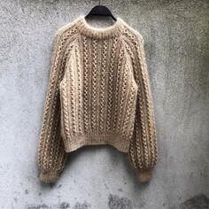 Ravelry: Waffle Sweater pattern by Pernille Larsen Knitting Kits, Sweater Knitting Patterns, Knitting Yarn, Knit Patterns, Stitch Patterns, Knitting Sweaters, Mohair Yarn, Mohair Sweater, Waffle Stitch