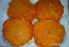 Receta de Hamburguesas de zanahoria - Fácil
