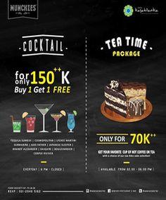 Munchies Bistro Tea Time & Cocktail Best Deal http://www.perutgendut.com/read/munchies-bistro-tea-time-cocktail-best-deal/1690 #Promo #Food #Kuliner #Indonesia #Munchies