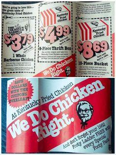 Retro Ads, Vintage Ads, Childhood Days, Oldies But Goodies, Old Ads, Good Ole, Kfc, The Good Old Days, Best Memories