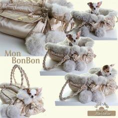 Kijk onze Angel genieten :-)  Nieuw binnen 3in1 Hondentas - Lolly Pop® hondenkleding