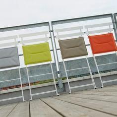 Seat cushion for Bistro Metal chair, verbena