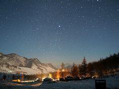 몽골 밤하늘 - Google 검색