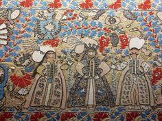 Greek Textiles in the Benaki Museum, Athens Benaki Museum, Greek Design, Some Image, Crete, Islamic Art, 17th Century, Athens, Fabric Crafts, Stitches