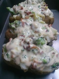 Battling the Home Front: Skinny Cheesy Baked Potato