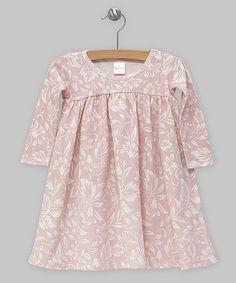 Look what I found on #zulily! Truffles Ruffles Rose Filigree Dress - Infant by Truffles Ruffles #zulilyfinds