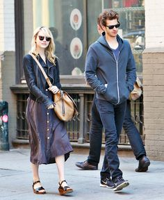 Emma Stone and Andrew Garfield!