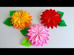 Origami Instructions, Origami Tutorial, Paper Art, Paper Crafts, Diy Crafts, Origami Folding, Origami Ball, Origami Paper, Crafts For Kids