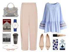 """""""Untitled #1382"""" by winnnna ❤ liked on Polyvore featuring Emporio Armani, Chicwish, Kate Spade, Balenciaga, Sonix, Bobbi Brown Cosmetics, Guerlain, Ted Baker, The Created Co. and Meggie"""