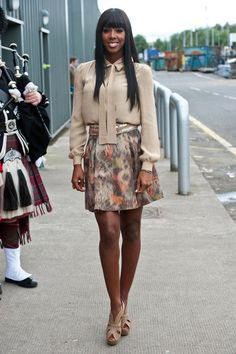 Kelly Rowland - 'X Factor' Auditions in Glasgow