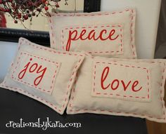 Creations by Kara: Pottery Barn Pillow Knock-Off