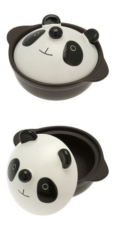 Panda hot pot // so cute! You need this @Amanda Pike