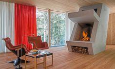 Дом-инсталляция в Тироле, 100 м²