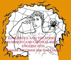 KING BRUCE AND THE SPIDER - SUMMARY AND CENTRAL IDEA - ENGLISH 10TH