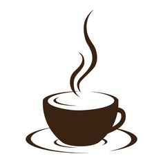 Satz von 3 Kaffeetasse Leinwand Wraps Espresso von AugustandElm