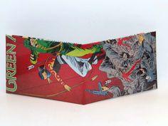 Comic Book Wallet// Green Arrow and Shado, $4.00