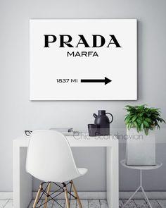 Prada Marfa Print Prada Marfa Art Prada Marfa by ChicScandinavian