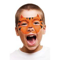 tiger facepaint kids - Google Search
