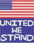 United We Stand - Free Peyote Beading Pattern by Arleen Hardin at Bead-Patterns.com!