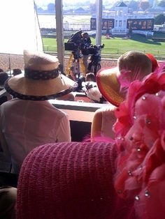 Looking for Extras - Picture from 50 to 1 at Churchill Downs (WHAS11.com 10/16/12)