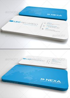 by Unicogfx on GraphicRiver. Global Business Card Business Card Details: Size CMYK Ready 300 dpi Bleeds Font Information: All fonts can be d. Free Business Card Templates, Free Business Cards, Modern Business Cards, Business Card Design, Print Templates, Magazine Design, Global Business, Corporate Business, Name Card Design