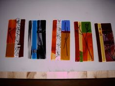 In and around STUDiO 28: Fused Glass Collage Art Panels